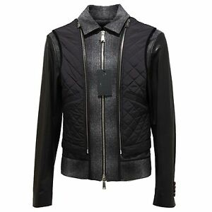 huge discount 9a194 d840a Details about 90979 giubbotto DSQUARED D2 KABAN LANA giacca giubbino uomo  jacket men