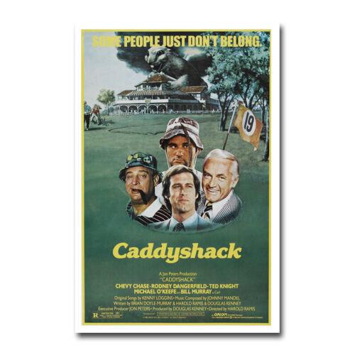 Caddyshack Movie Silk Canvas Poster Art Living Room Decor Print 13x20 24x36 inch