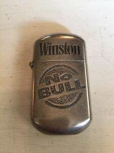 Genuine Winston Lighter No Bull Promotional | eBay