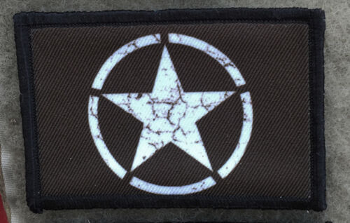 M1 Garand National Match Morale Patch Military Tactical Army Flag USA Hook Badge
