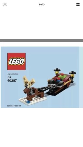 Lego Store Reindeer And Sleigh Monthly Mini Build December 2018 Exclusive 40287
