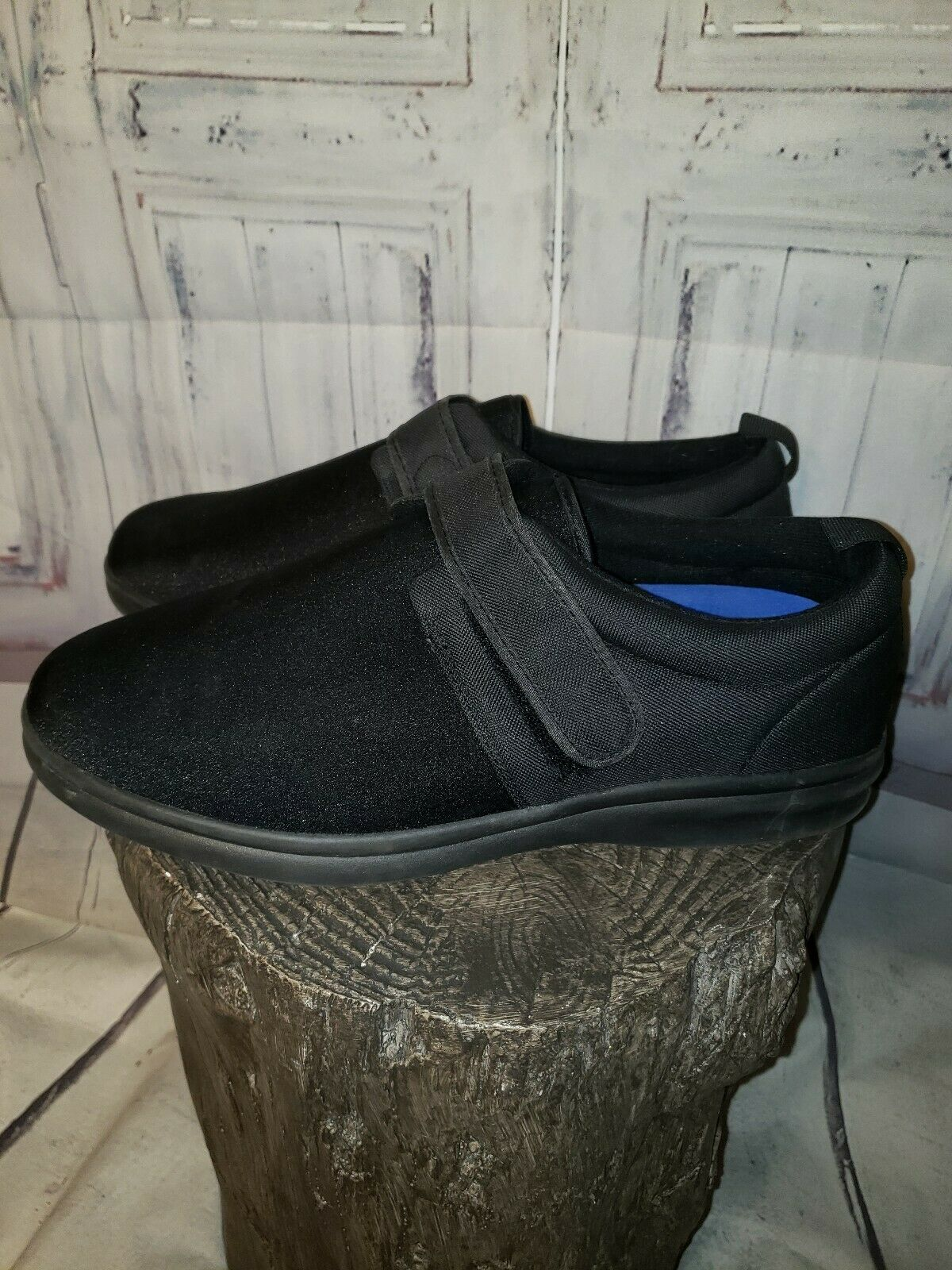 Dr Comfort Men ShoeS Carter 12XW Black Casual Vel… - image 2