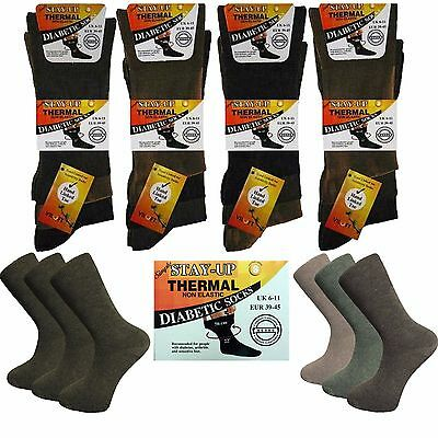 6 Pairs Womens Comfy Diabetic Argyle Socks Skin contact