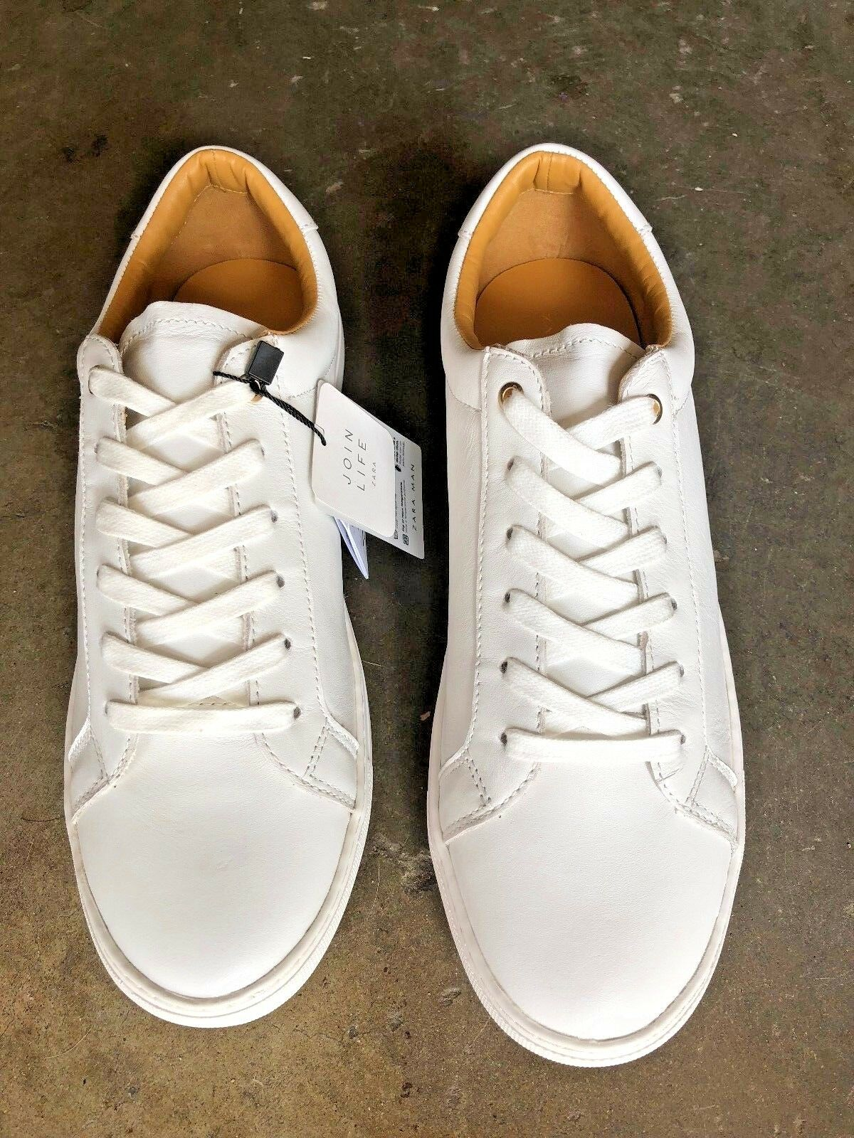 Zara Man Walking shoes New Low Top White