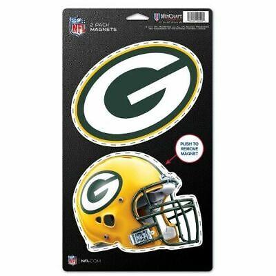 NFL Green Bay Packers Logo Helmet Magnet Pack of 1