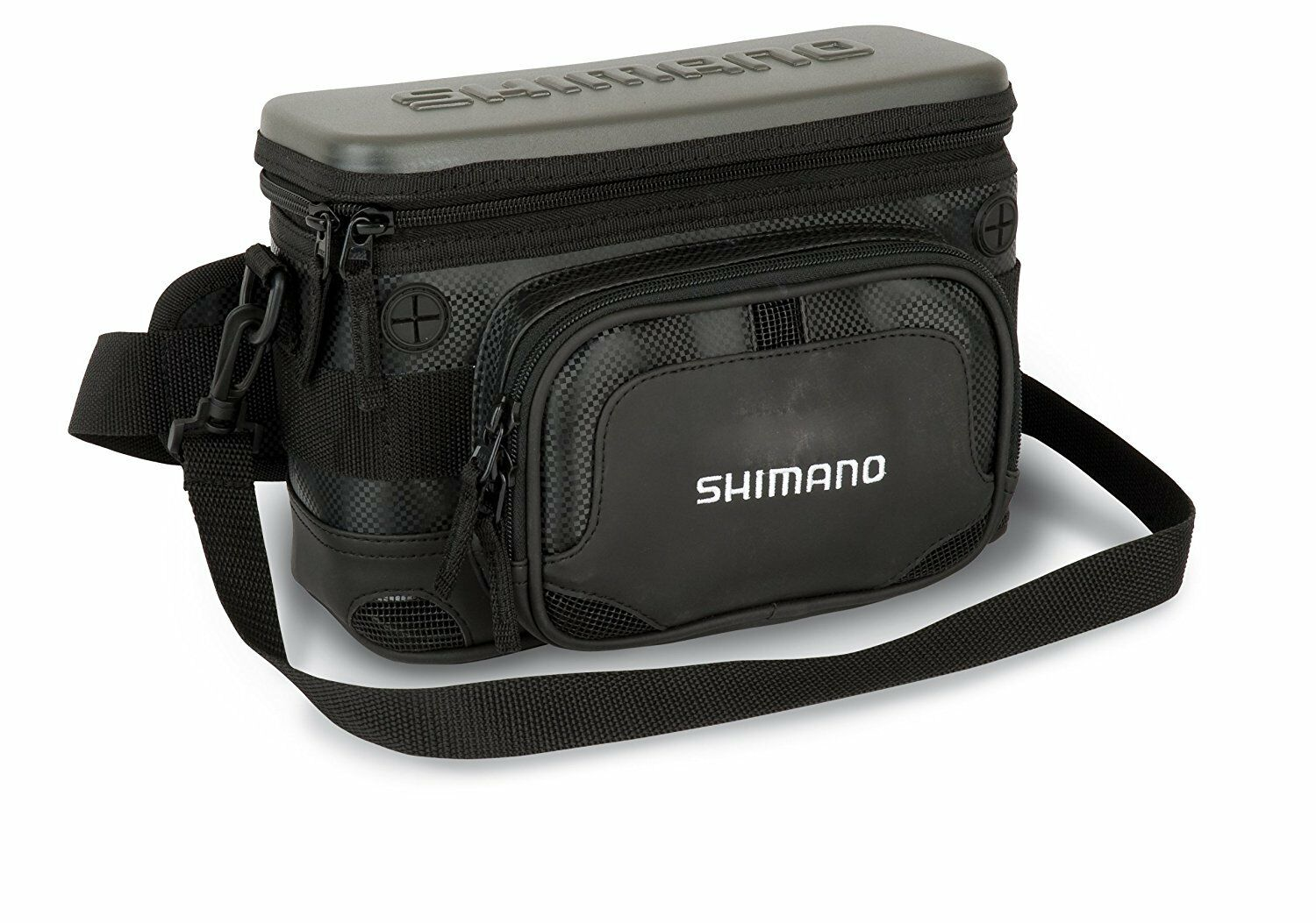 Shimano Lure Case, 7.50x10.60x5.90in, 6 single, 6 double compartments, SHLCH02