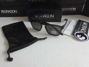 14d341a4a9 Dragon Drac H2O Matte Black Grey Polarized Floating Sunglasses NIB ...