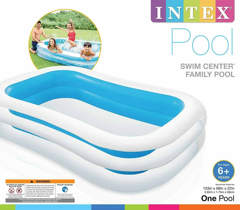Family Inflatable Pool Swim Centre Paddling Pool Kids Summer Garden Fun 103