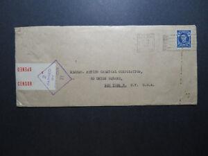 Australia-1943-Censor-Cover-to-New-York-Z11515