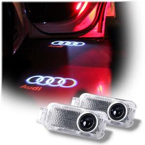 Ghost Logo Laser Projector Door Under Puddle Lights Audi