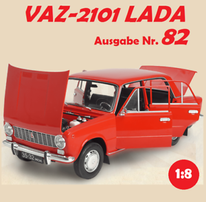 "1:8 VAZ-2101 LADA /""ZHIGULI/"" Hachette Ausgabe Nr 82"
