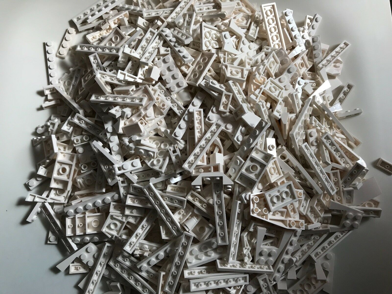 770 G G G LEGO pièces Blanc Plaques Lot STAR WARS CITY BATMAN Marvel modifié Pièces 66e586