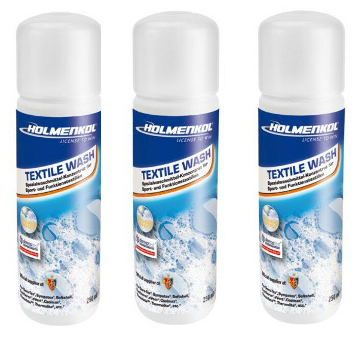 1 2 3er Holmenkol Textile Wash 8.5 oz Laundry Soap Functional Clothing