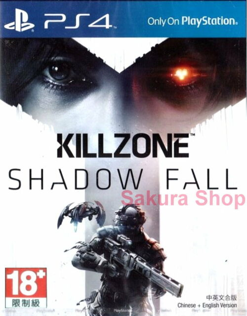 New Sony PS4 Games Killzone Shadow Fall HK Version Chinese/English Subtitle