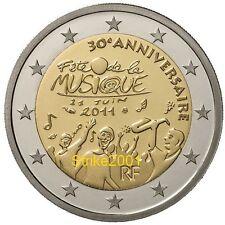 2 EURO COMMEMORATIVO FRANCIA 2011