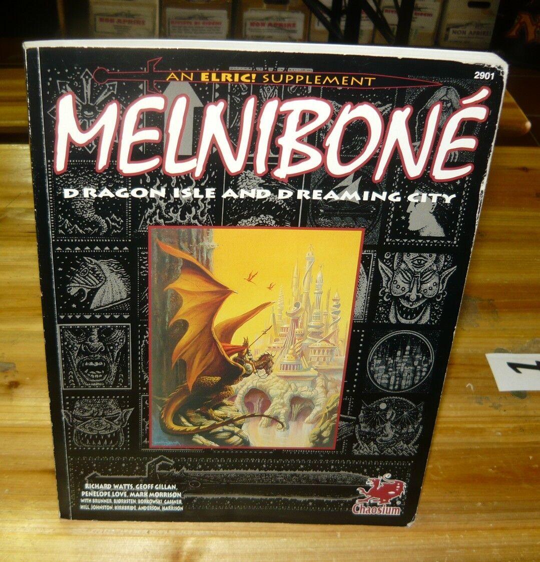 Chaosium Elric RPG Melniboné The Dragon Isle Sourcebook