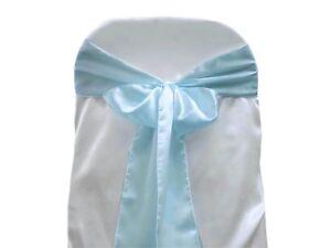 (5) Satin Chair Sash ~Wedding~