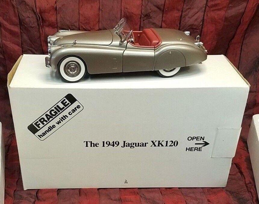 The Danbury Mint 1949 1949 1949 Jaguar XK120 1 24 Scale Die-Cast Car 7f4fd2