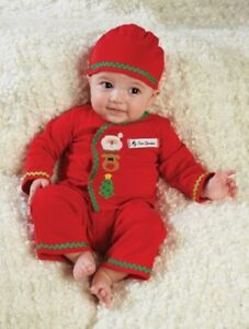 Mud Pie Holiday Christmas Tree Bloomers  0-6 Months