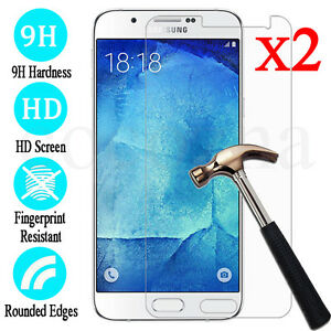 2X-Tempered-Glass-9H-Film-Screen-Protector-Cover-For-Samsung-Galaxy-J1-2-3-5-7