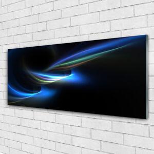 Impression sur verre acrylique Image tableau 125x50 Art Abstraction