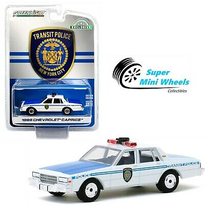 New York City Transit Police Department 1:64 Greenlight 1989 Chevrolet Caprice