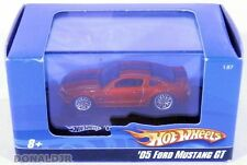Hot Wheels 2005 Ford Mustang GT Red '05 SMALL 1/87 HO Scale