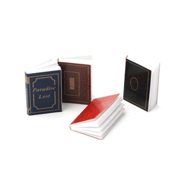 Costante Dolls House 4646 Libri Classica (4 Pezzi) 1:12 Per Casa Delle Bambole Nuovo! # Alta Resilienza