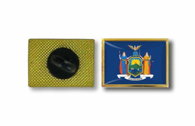 pins pin's flag national badge metal lapel hat button vest usa new york