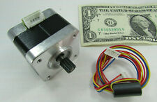 Minebea 2 Phase Nema 17 Stepper Motor 102v 18 Degree 4 Wire 6 Pin 34 Ohms 03a