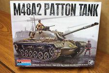 MONOGRAM M48A2 PATTON TANK 1/35 SCALE MODEL KIT