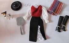 DOLLS OF THE WORLD CHILE BARBIE OUTFIT AND ACCESSORIES ONLY