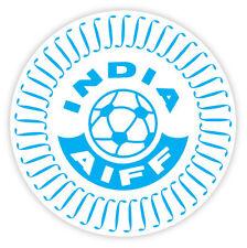 "India Indien AIFF National Football Association sticker decal 4"" x 4"""
