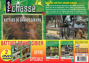 Lot-2-DVD-Battues-grand-gibier-Chasse-du-grand-gibier-Top-Chasse