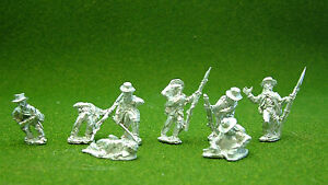 28mm-American-Civil-War-ACW-Casualty-set-in-Slouch-hat