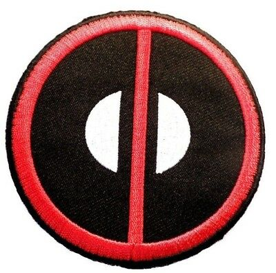 GREAT EMBROIDERY Marvel Deadpool Icon//Sewn on Patch 2 1//2 inch in size