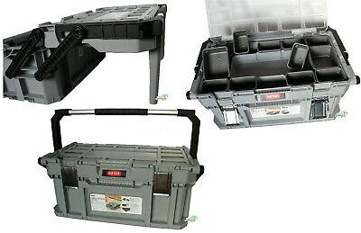 Keter Toolbox Werkzeugkasten Werkzeugbox Werkzeugkiste Werkzeugkoffer tragbar