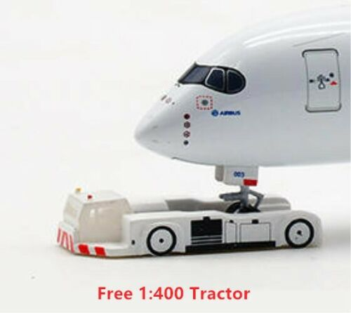1:400 PandaModel 19028 Germany Air Force A340-300 16+1 Free Tractor Very Rare