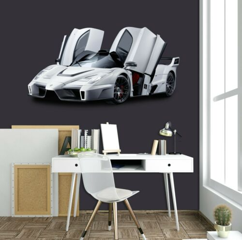 3D Ferrari Enzo O01 Car Wallpaper Mural Poster Transport Wall Stickers Amy
