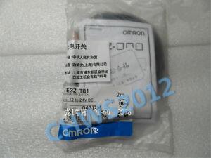 1PCS OMRON E3Z-T81 Photoelectric Switch Sensor 12 to 24 VDC 2M