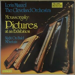 MAAZEL-Moussorgsky-Pictures-at-an-Exhibition-TELARC-Digital-10042-Germany-NM