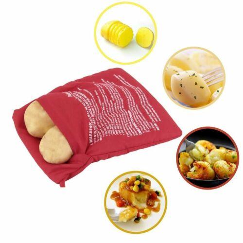 Veste de pomme de terre micro-ondes Cuisinière 4 M Sac Couche Lavable Cuire