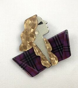 Unique-Lady-Large-Pin-Brooch-In-acrylic