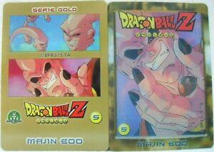 Dragon-Ball-Z-034-Majin-Boo-034-Giochi-Preziosi-serie-GOLD-n-5-lenticolari
