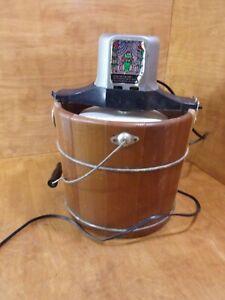 Vintage-Sears-Electric-Old-Fashioned-Ice-Cream-Maker-Frozen-Desserts-Machine