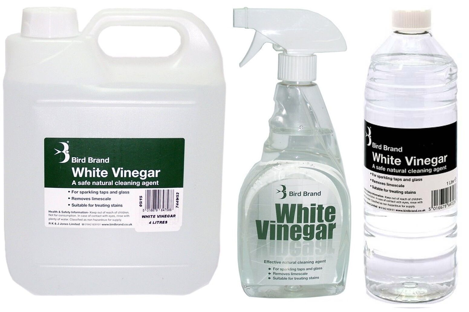 bird brand white vinegar cleaning solution limescale glass cleaner stain remover ebay. Black Bedroom Furniture Sets. Home Design Ideas