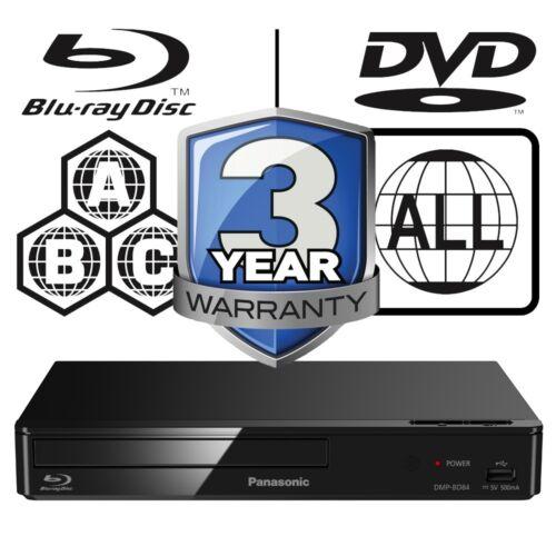 Panasonic DMP-BD84EB-K Full MultiRegion Smart Blu-ray Player