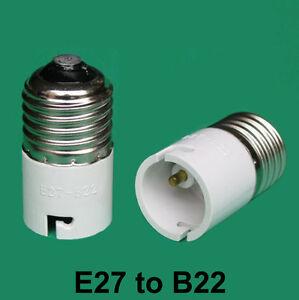 Edison-Screw-ES-E27-To-Bayonet-BC-B22-Light-Bulb-Adaptor-Lamp-Converter-Holder