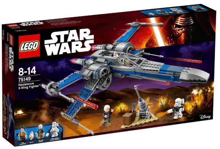 LEGO  ® estrella guerras ™ 75149 resistance X-WING FIGHTER NUOVO & OVP POE Dameron lor San T  il più economico