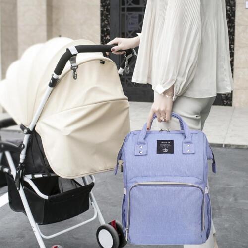 Diaper Bags USB Port Handbag Mummy Nursing Stroller Baby Nappy Backpacks Satchel